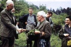 R. Tuexen und K. Gauckler auf der Tagung in Erlangen 1965.